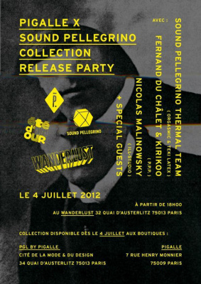 "ÉTÉ D'AMOUR ""PIGALLE X SOUND PELLEGRINO COLLECTION RELEASE PARTY"""