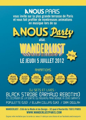 A NOUS PARTY @ WANDERLUST