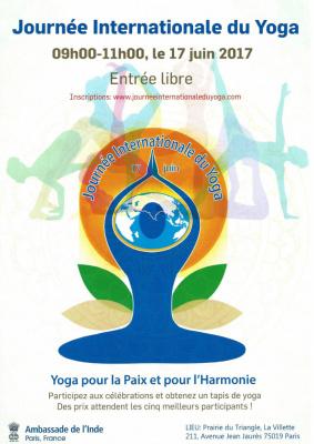 Journée internationale du yoga 2017