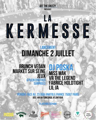 La Kermesse, le nouveau rendez-vous de l'été sur les quais de Seine