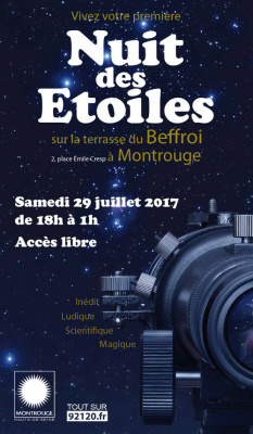 La Nuit des Etoiles à Montrouge