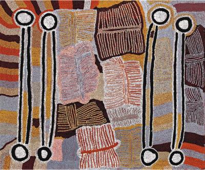 Expo Les Derniers Grands Initiés, aux origines de l'art aborigène contemporain
