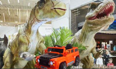 Jurassic Safari à l'outlet One Nation Paris