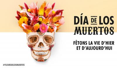 Dia de los muertos : célébrez les morts avec des fleurs dans le Marais !
