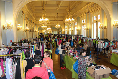 La braderie de la solidarit 2017 de l 39 association for Salon de la mode paris 2017