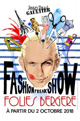 Jean-Paul Gaultier lance son Fashion Freak Show aux Folies Bergères !
