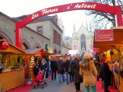 Les Féeries d'Auteuil 2017, le marché de Noël solidaire des Apprentis d'Auteuil