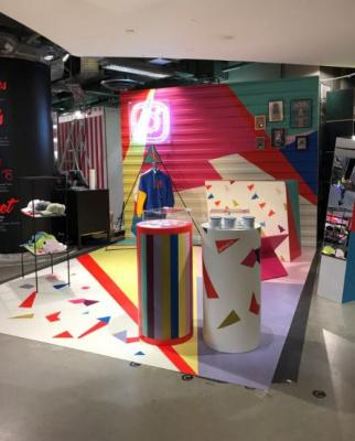 Instagram lance son pop-up store chez Citadium !