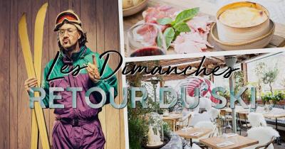 Retour du ski : un dimanche version enneigée chez Auteuil Brasserie