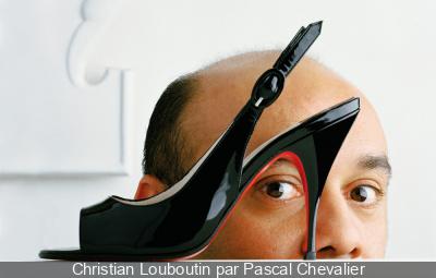 Christian Louboutin par Pascal Chevalier