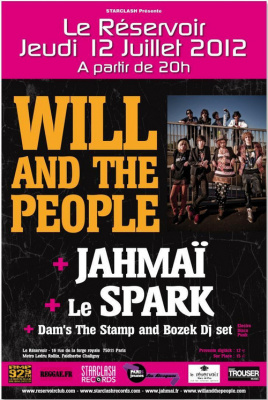 Will And The People + Jahmaï + Le Spark