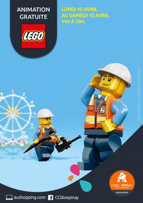 Les briques LEGO® s'invitent à Epinay sur Seine