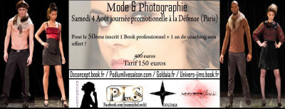 GRANDE JOURNEE PROMOTIONNELLE  MODE-PHOTOGRAPHIE