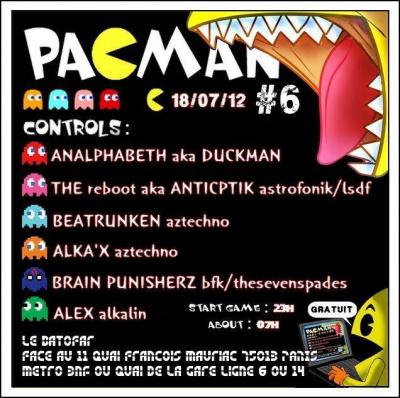 PACMAN PARTY #6 @ BATOFAR