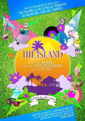 THE ISLAND - NA'SAYAH + VINCENT CHICHA + DJ F.E.X + DJ DEEP