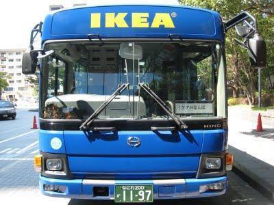 Allez chez Ikea en Bus
