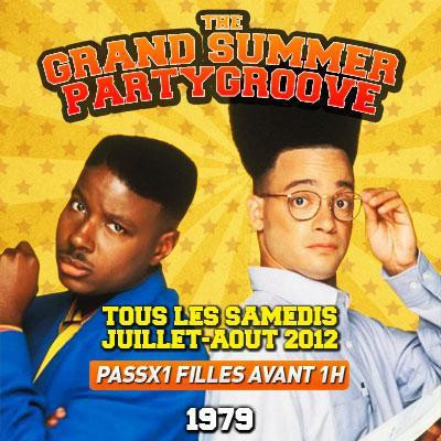 THE GRAND SUMMER PARTY GROOVE