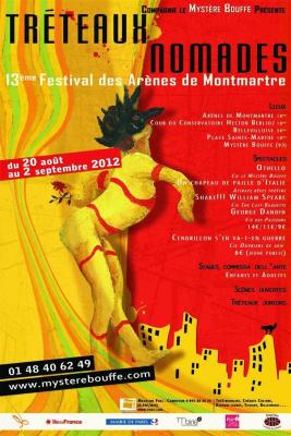 Festival des Tréteaux Nomades - Arènes de Montmartre