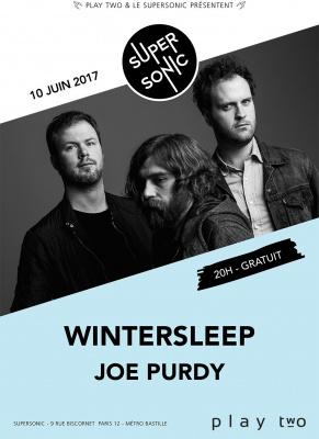 WINTERSLEEP + JOE PURDY en concert
