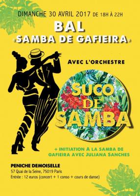 CONCERT -BAL SAMBA DE GAFIEIRA