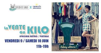 Vente au kilo de vêtements spéciale Rétro & Vintage