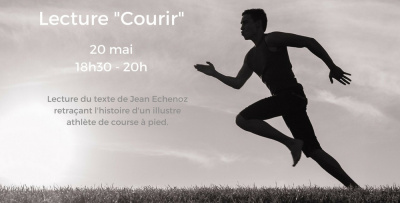 "Lecture ""Courir"""
