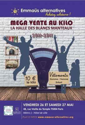 Méga Vente au Kilo de vêtements d'Emmaüs Alternatives
