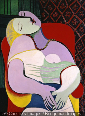 Le Rêve, Pablo Picasso, 1932, collection particulière