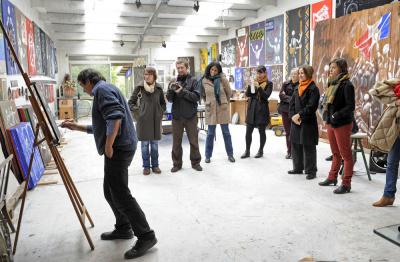 Journées Portes-Ouvertes des ateliers d'artistes 2017 à Montreuil
