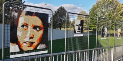 Exposition BRIKX aux Portes Ouvertes du cimetière de Valenton