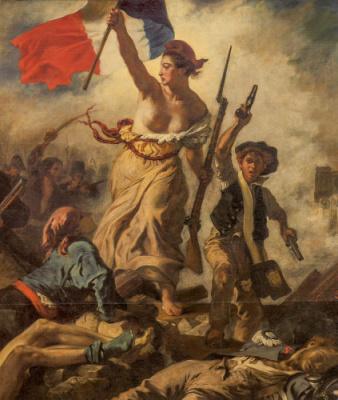 Exposition Delacroix au musée du Louvre