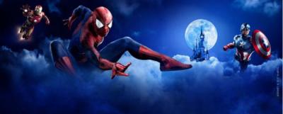Les super-héros Marvel s'intallent à Disneyland Paris !
