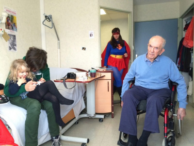 Wonder Woman enterre son papa, la pièce au Lilas en Scène