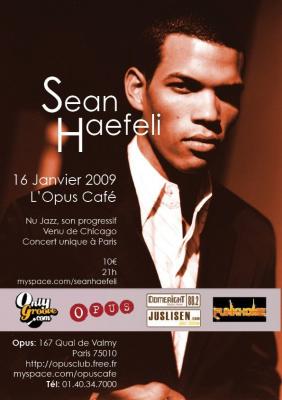 Concert, Paris, Sean Haefeli, Bizz'art, Opus