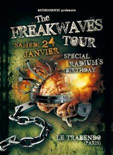 Soirée, Paris, Freakwaves Tour, Trabendo, Radium