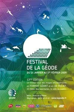 Festival de la géode, IMAX, 3D, cinéma.