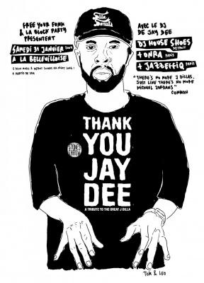 Soirée, Paris, Bellevilloise, Clubbing, Thank you Jay Dee