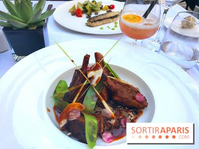 Le menu cajun du Safran à l'Hôtel du Collectionneur