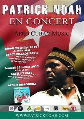 Patrick NOAH en concert à Bercy Village Paris