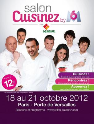 Salon Cuisinez by M6 avec Lesieur