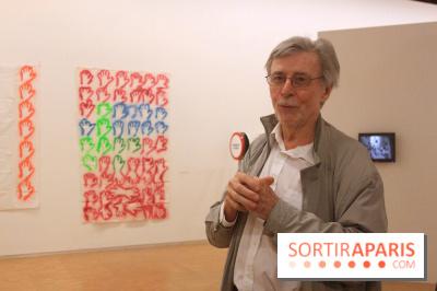 Exposition Hervé Fischer au Centre Pompidou