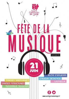 Fête de la musique Saint-Germain-en-Laye 2017