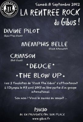 La Rentrée Rock au Gibus