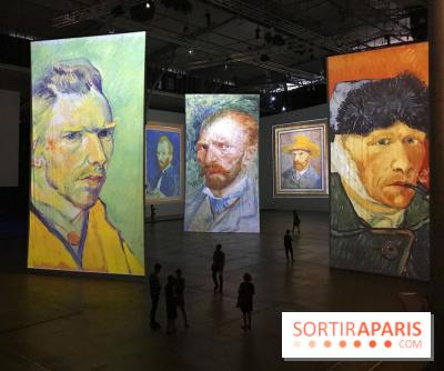 Imagine Van Gogh à la Grande Halle de la Villette