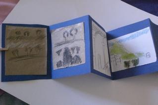 Parcours-atelier de dessin pour les enfants