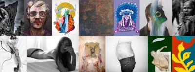 Vernissage RZG - 15 artistes à la Galerie Claire Corcia, Paris