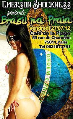 Soirée Brasil na Praia 2012