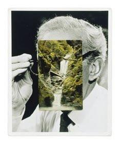John Stezaker, Mask XXXVIII, 2007, Collage de photographie et de carte postale 61 x 45,5 cm Collection Frac Île-de-France