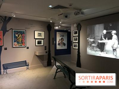 Le Café Renoir,Montmartre, décor de Cinéma