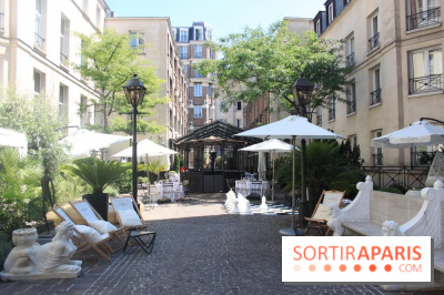 Le restaurant terrasse cach des jardins du marais - Terrasse jardin marais villeurbanne ...